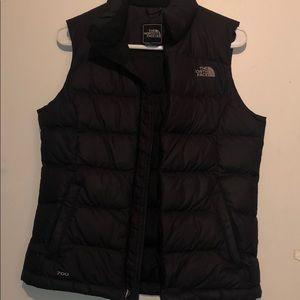 The NorthFace black puffer vest